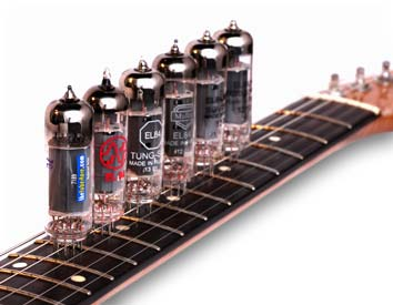 EL84 Tubes On Fret